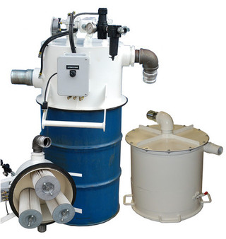 Schmidt Specialized Systems - Modular Drum Vacuum Reclaim System - Click to Enlarge